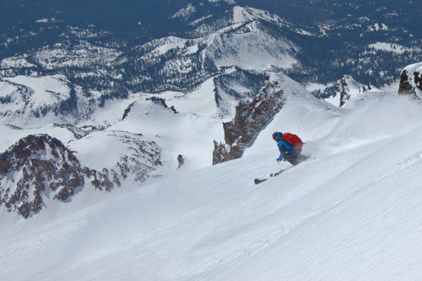 Shasta Skiing 1
