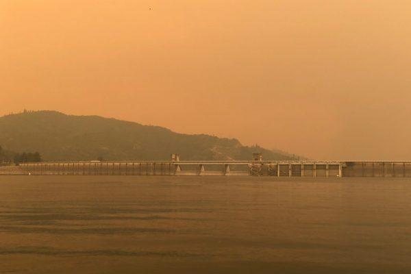 Shasta Lake Smoke