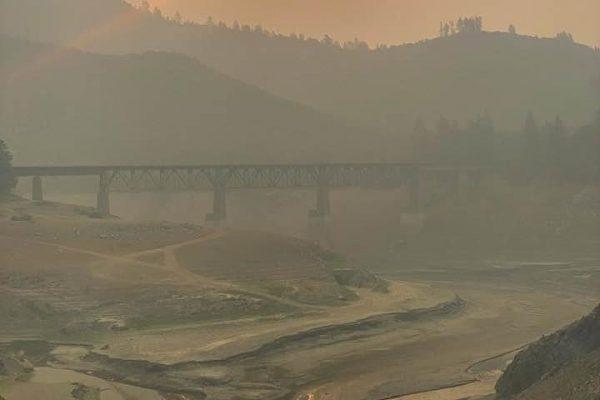 Smoke at Shasta
